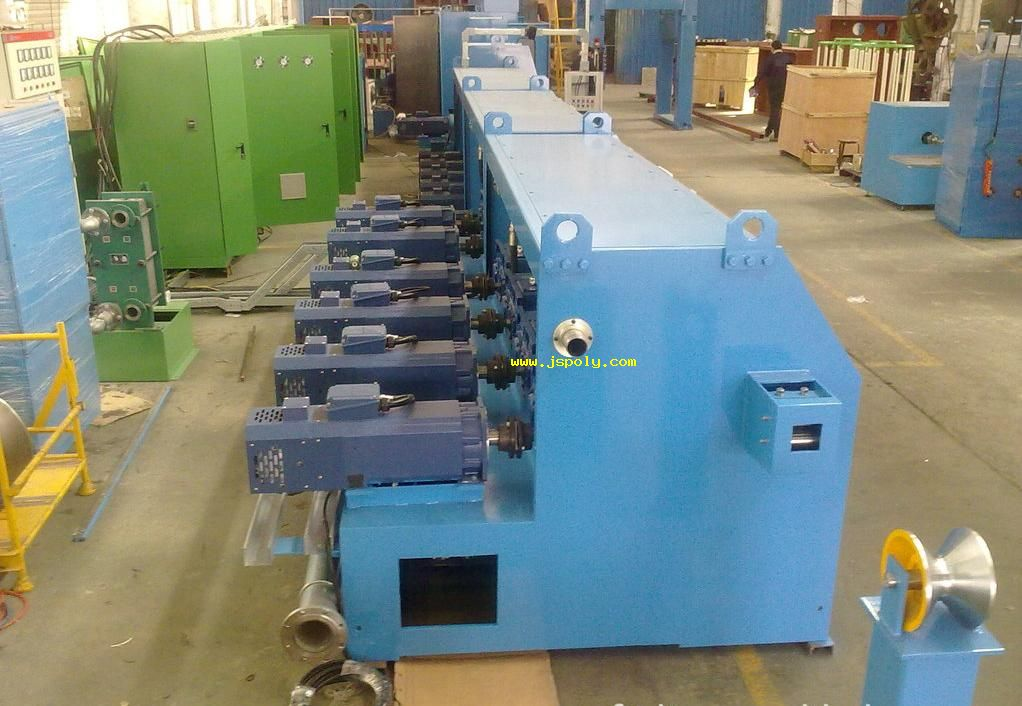 individual drives wire drawing machine