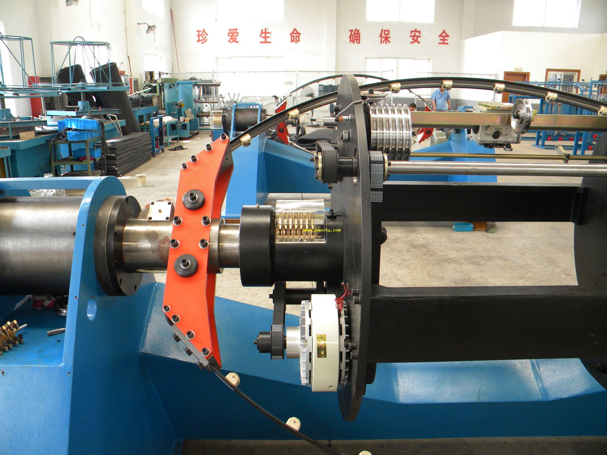 800 double twist bunching machine