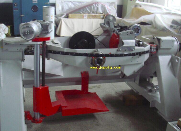 electric pitch double twisting bunching machine