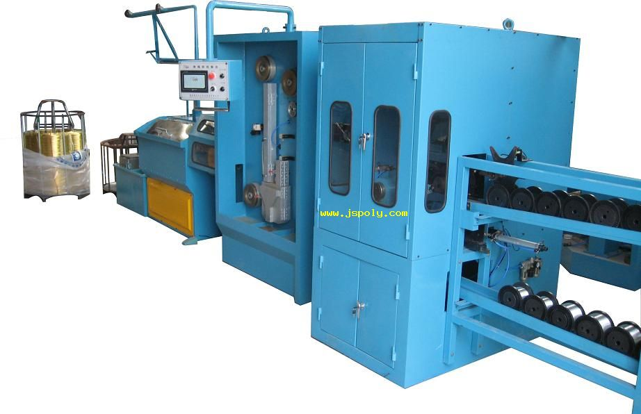 Fine Wire Drawing Machine with Continuous Annealer & Automat